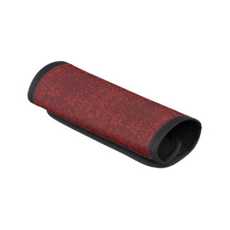 詳しく赤い花模様の壁紙 ラゲッジ ハンドルラップ