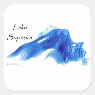詳細なスペリオル湖 スクエアシール