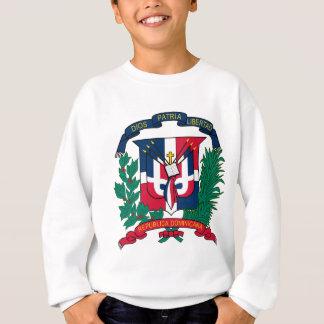 詳細ドミニカ共和国の紋章付き外衣 スウェットシャツ
