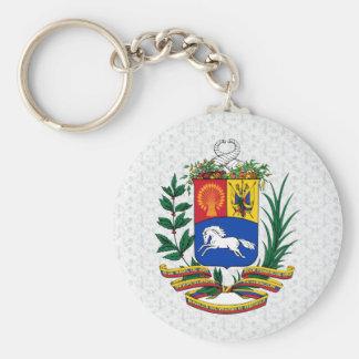 詳細ベネズエラの紋章付き外衣 キーホルダー