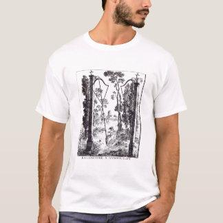 「詳細desからのランブイエの庭の振動、 tシャツ