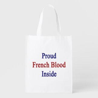 誇りを持ったでフランスのな血中 エコバッグ