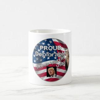 誇りを持ったで嘆かわしい切札の投票者のマグ コーヒーマグカップ