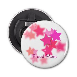 誇りを持ったなお母さんのボタン型栓抜き 栓抜き