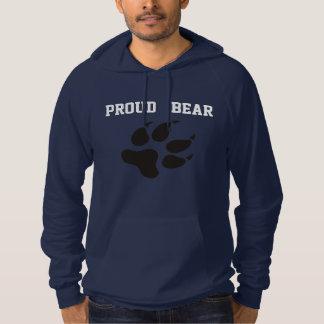 誇りを持ったなくまのプルオーバーのフード付きスウェットシャツ パーカ