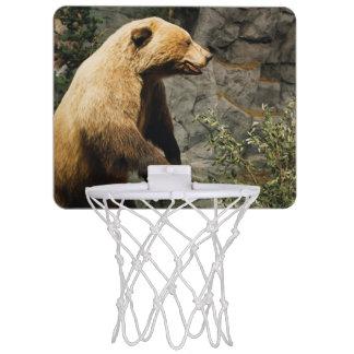 誇りを持ったなくま ミニバスケットボールネット