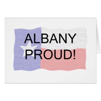 誇りを持ったなアルバニー カード