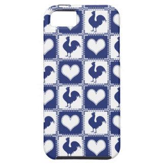 誇りを持ったなオンドリのアメリカの国スタイル iPhone SE/5/5s ケース