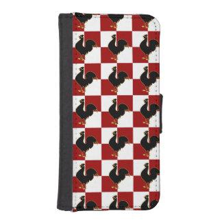 誇りを持ったなオンドリのアメリカの国スタイル iPhoneSE/5/5sウォレットケース