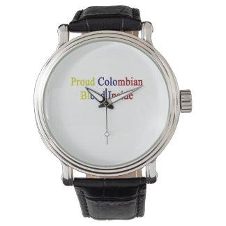 誇りを持ったなコロンビアの血中 腕時計