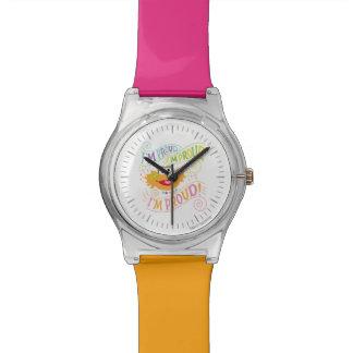 誇りを持ったなソエ 腕時計