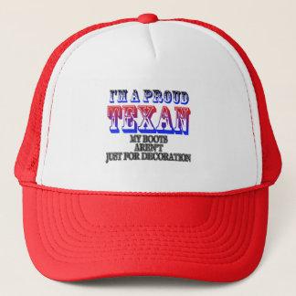 誇りを持ったなテキサス州の帽子 キャップ