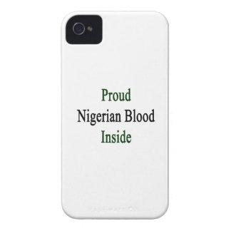 誇りを持ったなナイジェリアの血中 Case-Mate iPhone 4 ケース