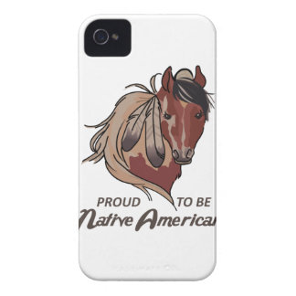 誇りを持ったなネイティブアメリカン Case-Mate iPhone 4 ケース