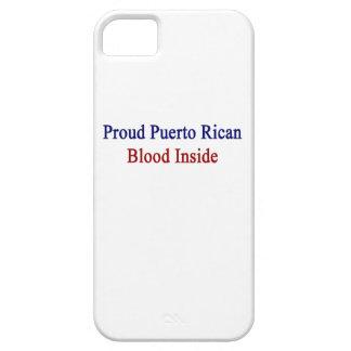 誇りを持ったなプエルトリコの血中 iPhone SE/5/5s ケース