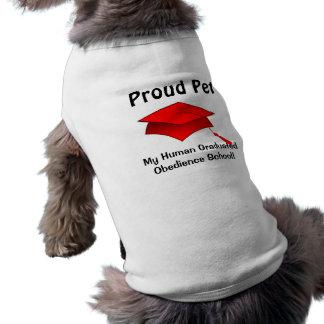 誇りを持ったなペット-人間の従順の学校の卒業生 ペット服