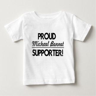 誇りを持ったなミハエルベネットサポータ! ベビーTシャツ