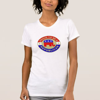 誇りを持ったな共和党のワイシャツ Tシャツ