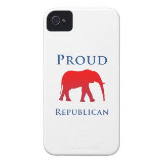 誇りを持ったな共和党のiPhone 4Sの場合 Case-Mate iPhone 4 ケース