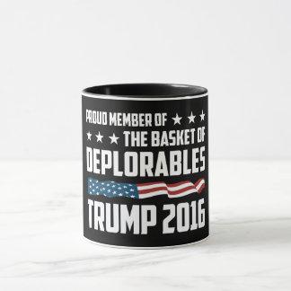 誇りを持ったな嘆かわしいのための最も最高のなマグ! ドナルド・トランプのため! マグカップ