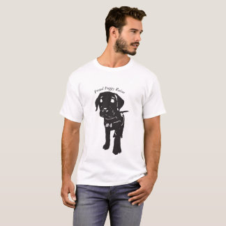 誇りを持ったな子犬のレイザーのティー Tシャツ