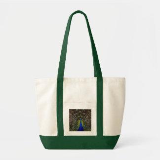 誇りを持ったな孔雀のバッグ-スタイルを選んで下さい トートバッグ