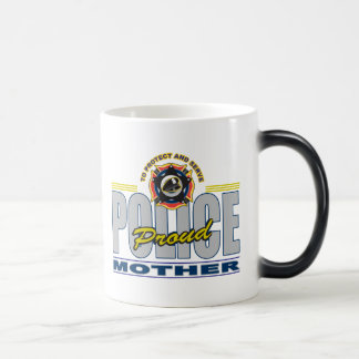 誇りを持ったな警察は生み出します モーフィングマグカップ