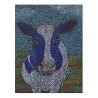誇りを持ったな農家の乳牛 ポストカード