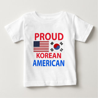 誇りを持ったな韓国系アメリカ人 ベビーTシャツ