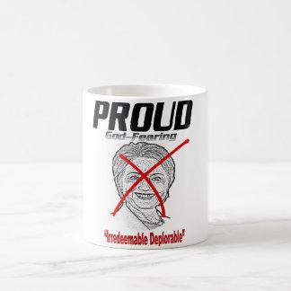 """誇りを持ったな""""無償還の嘆かわしい"""" コーヒーマグカップ"""