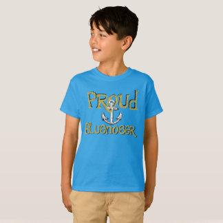 誇りを持ったなBluenoserノバスコシアのいかりのワイシャツ Tシャツ