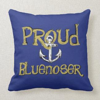 誇りを持ったなBluenoserノバスコシアのいかりの枕青 クッション