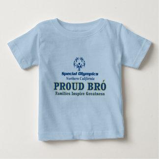 誇りを持ったなBroの幼児のTシャツ ベビーTシャツ