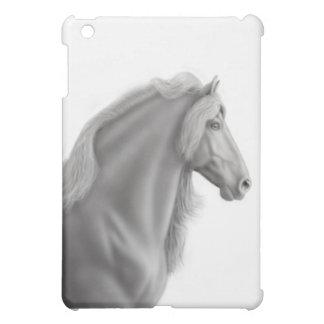 誇りを持ったなFriesianの馬のiPad Miniケース iPad Miniカバー