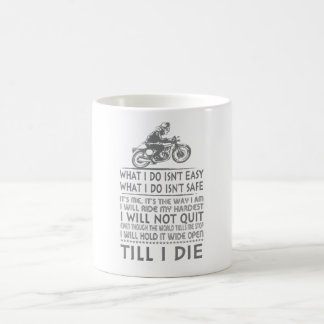 誇りを持ったなMXのライダー コーヒーマグカップ