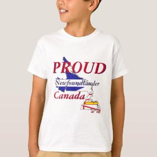 誇りを持ったなNewfoundlanderニューファウンドランドカナダ Tシャツ
