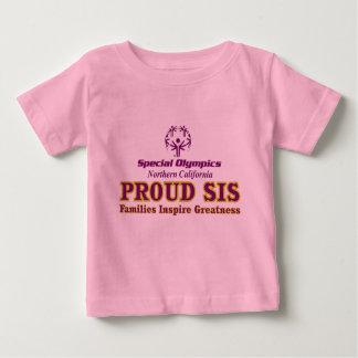 誇りを持ったなsisの幼児のTシャツ ベビーTシャツ