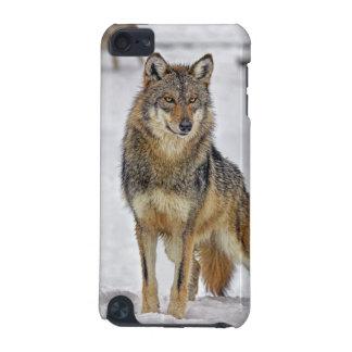 誇りを持ったに立っているオオカミ iPod TOUCH 5G ケース
