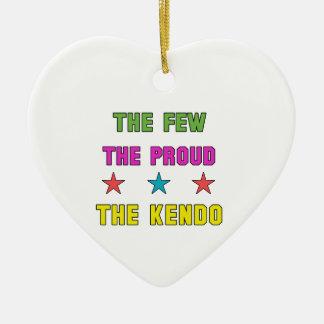 誇りを持ったKendo. セラミックオーナメント