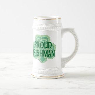 誇り高いアイルランド人ステイン ビールジョッキ