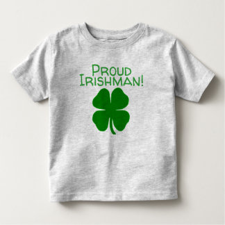 誇り高いアイルランド人 トドラーTシャツ