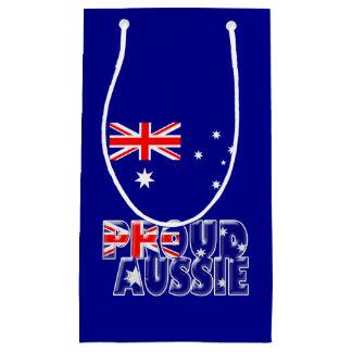 誇り高いオーストラリア人 スモールペーパーバッグ