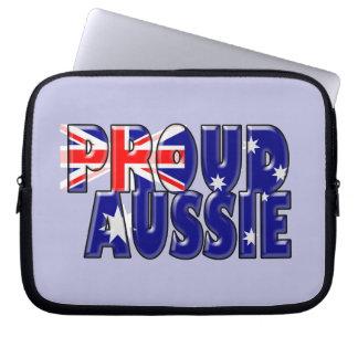 誇り高いオーストラリア人 ラップトップスリーブ