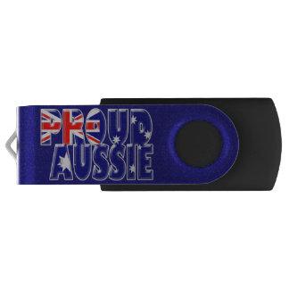 誇り高いオーストラリア人 USBフラッシュドライブ