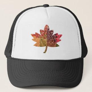 誇り高いカナダ人:  芸術的なカエデの葉のデザイン キャップ
