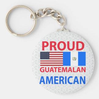 誇り高いグアテマラのアメリカ人 キーホルダー