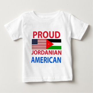 誇り高いヨルダンのアメリカ人 ベビーTシャツ