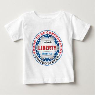 誇り高い保守主義者 ベビーTシャツ