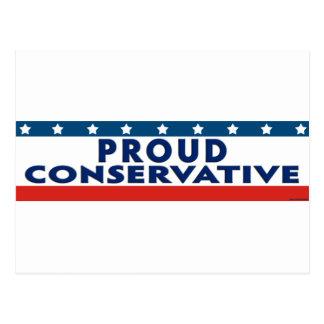 誇り高い保守主義者 ポストカード
