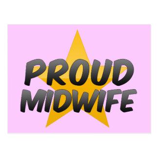 誇り高い助産婦 ポストカード